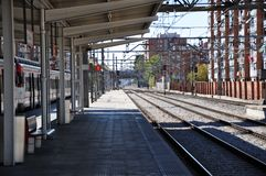 Spanish train station Royalty Free Stock Images