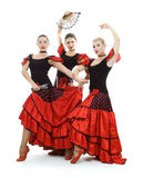 Spanish trio Royalty Free Stock Image