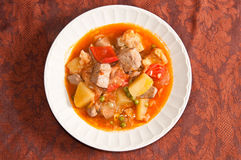 Spanish tuna stew Royalty Free Stock Image
