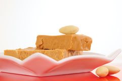 Spanish turron Stock Images