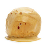 Spanish turron ice cream Royalty Free Stock Image
