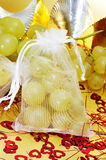 Spanish twelve grapes of luck Royalty Free Stock Photo