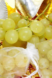 Spanish twelve grapes of luck Stock Images