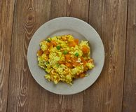Spanish Pumpkin Paella Royalty Free Stock Images