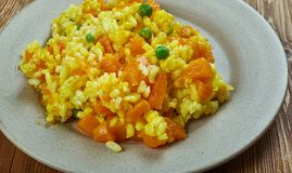 Spanish Pumpkin Paella Stock Images