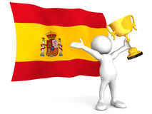 Spanish Victory Stock Photography