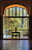 Spanish view to window Royalty Free Stock Images