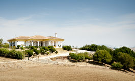 Spanish Villa in Andalucia Stock Image