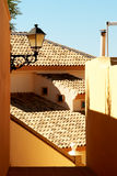 Spanish villa. Fragment. royalty free stock images