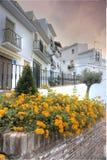 Spanish village Royalty Free Stock Image