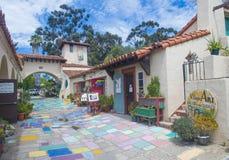 Spanish village art center Stock Photography