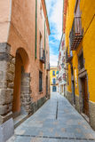 Spanish village Royalty Free Stock Images