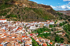 Spanish village Chulilla Royalty Free Stock Photos