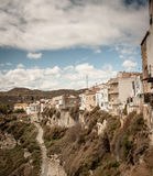 Spanish Village. The edge of a town of Sorbas Spain stock image