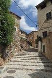 Spanish village fornalutx. On balearic island mallorca Royalty Free Stock Photography