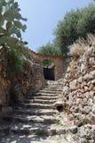 Spanish village fornalutx. On balearic island mallorca Stock Photography