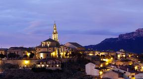 Spanish village (La Rioja,Spain) Royalty Free Stock Images