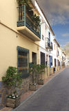Spanish village street Stock Image