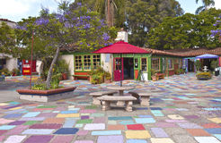 Spanish Village stuidios and exhibits Balboa Park California. Royalty Free Stock Photos