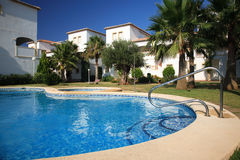 Spanish villas Stock Photos