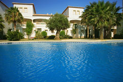 Spanish villas Royalty Free Stock Images