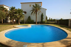 Spanish villas Stock Images