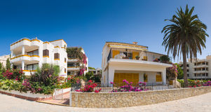 Spanish Villas Stock Photo
