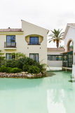 Spanish villas royalty free stock photo
