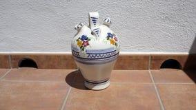 Spanish Water Jug Royalty Free Stock Image