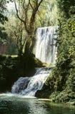 Spanish waterfall Stock Images