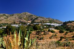 Spanish white-washed village Stock Image