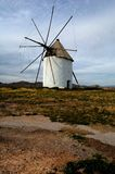 Spanish windmill Royalty Free Stock Images