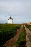 Spanish windmill Stock Photo