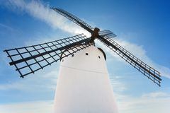 Spanish windmill Stock Image