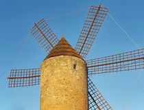 Spanish Windmill Royalty Free Stock Image