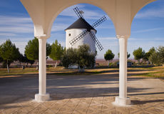 Spanish Windmill Royalty Free Stock Photo