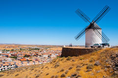 Spanish windmill Stock Photos
