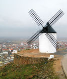 Spanish windmill. Traditional spanish windmill on the hill Royalty Free Stock Photography