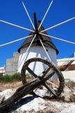 Spanish windmill, Carboneras. Stock Image