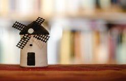 Of Spanish Windmill di modello immagini stock libere da diritti