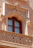 Spanish Window. Spanish style window with balcony at Toledo royalty free stock image