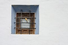 Spanish window. Window in Huesca,Spain stock images