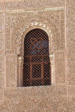 Spanish Window Alhambra Granada Spain Royalty Free Stock Image