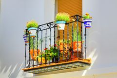 Spanish Window Box Stock Images