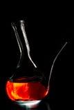 Spanish wine bottle Stock Photography