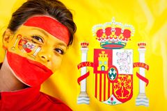 Spanish woman Royalty Free Stock Image