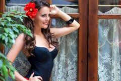 A spanish woman Stock Photo