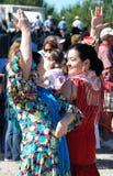 Spanish women flamenco dancing. Stock Photography