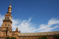 Spanish Wonder in Seville Royalty Free Stock Images
