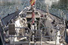 Spanish Yacht Stock Photography